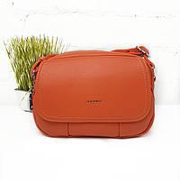 Яскрава літня жіноча сумка кожзам помаранчева Арт.SJ-2068 orange Johnny (Китай)