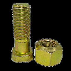 Болт передней ступицы 40-3103016 + гайка 40-3103017, МТЗ, ЮМЗ, КПС