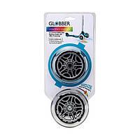 Cветящиеся колеса GLOBBER серий PRIMO/ELITE/EVO/FLOW (передние колеса, 2 шт)
