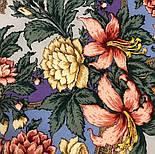 Пленительный июль 1730-1, павлопосадский платок шерстяной  с шелковой бахромой, фото 2