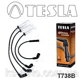 Провода высоковольтные Ланос 1.5, Авео 1.5 (с металлическими наконечниками) TESLA
