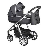 Детская универсальная коляска 2 в 1 Espiro Next 2.1 Multicolor 517 Graphite Street