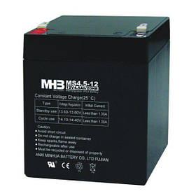 MHB battery Акумулятор AGM 4,5 Ач 12В, не герметичний, модель MS4,5-12, MHB battery