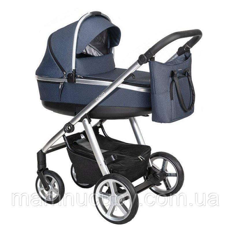 Дитяча універсальна коляска 2 в 1 Espiro Next 2.1 Multicolor 503 Navy City