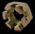 Гайка МТЗ-82 М18х1.5 корончатая оцинкованная 70-3003032. Гайка МТЗ-82 М18х1.5 корончата оцинкована, фото 3