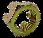 Гайка МТЗ-82 М18х1.5 корончатая оцинкованная 70-3003032. Гайка МТЗ-82 М18х1.5 корончата оцинкована, фото 4