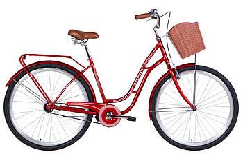 "Велосипед 28"" Dorozhnik OBSIDIAN 2021 (рубиновый)"