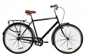 "Велосипед 28"" Dorozhnik COMFORT MALE 2020 (синий)"
