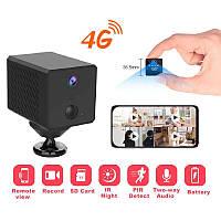 4G камера видеонаблюдения мини под СИМ карту Vstarcam CB72, 2 Мп, датчик движения, запись, Android & Iphone