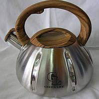 Чайник свисток Green Life GL 5203BR