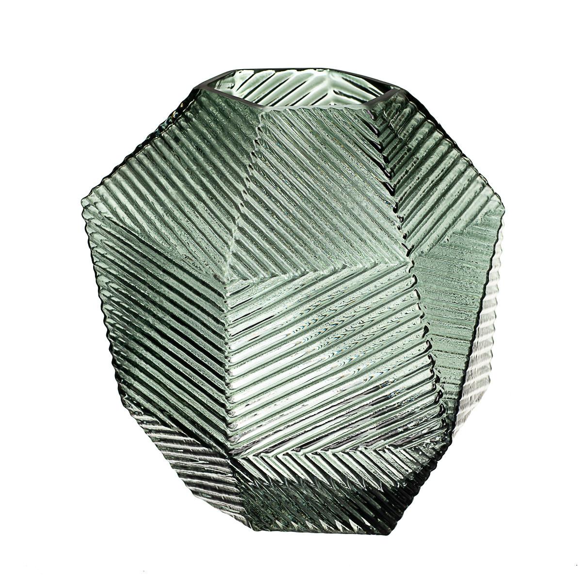"""Стеклянная ваза """"Скала"""" (8426-034)"""