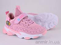 """Кросівки дитячі для дівчинки весна/осінь 200-103 pink (31-36) """"Violeta"""" купити оптом 7км"""