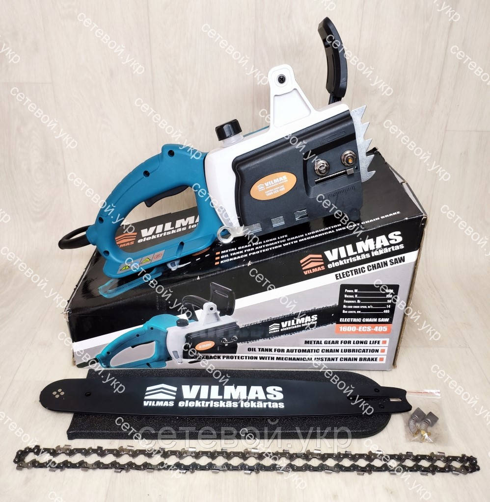 Электропила цепная Vilmas 160-ECS-405