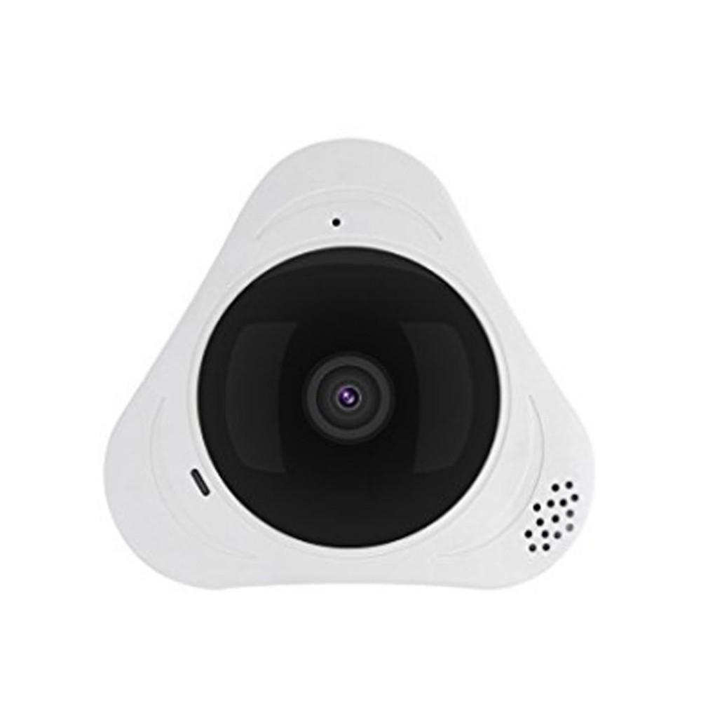 Панорамная wifi камера 360 рыбий глаз Unitoptek EC-P02, беспроводная, белая