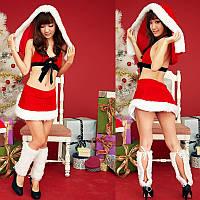 Рождественский эротический комплект Новогодняя фея №214