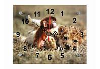 Часы настенные Обезьянка в Сафари