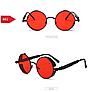 Красные очки круглые стимпанк - Фото