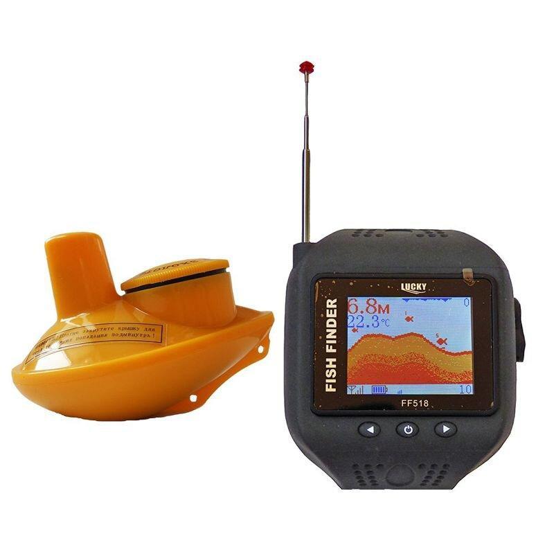 Эхолот часы lucky ff518 fishfinder