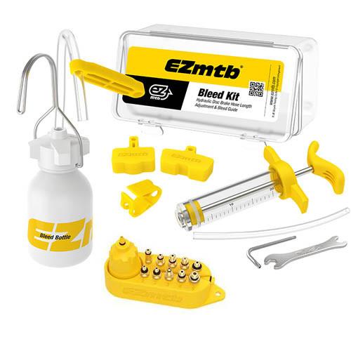 Набор для обслуживания ремонта тормозных систем велосипедов, EZmtb RR7306