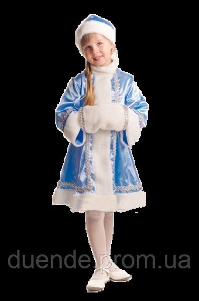Снегурочка новогодний карнавальный костюм для девочки / BL -  ДНг14