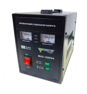 Стабілізатор напруги релейного типу FORTE MAX-1000VA