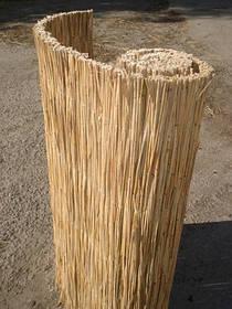 Камышовые маты в рулонах, размер 1,5 x 3 м