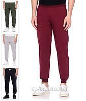 Бордовые мужские спортивные штаны на манжете ТМ «Fazor», Узбекистан / Размеры: 46-54 / Трикотаж двунитка
