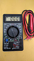 Мультиметр DT-832 звук