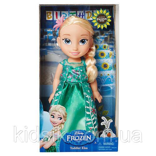 Кукла Принцесса Эльза День Рождения, Холодное Сердце Disney Frozen Toddler Elsa, фото 1