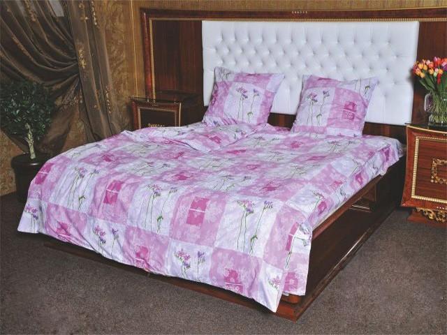 """Красивое постельное белье """"Нежность"""" бязь Ранфорс Евро размер"""