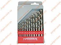 Набор свёрл по металу HAISSER (2 мм -8 мм).