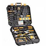 Набор ручных инструментов в кейсе, 168шт, Deko TZ168, профессиональный, фото 2
