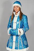 Костюм для взрослых Снегурочка Голубой, фото 1