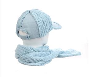 """Стильний теплий жіночий набір кепка+шарф """"Shannon"""""""
