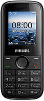 Мобильный Philips E120 (black), фото 1