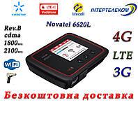 3G/4G/LTE WiFi роутер Novatel 6620L под Киевстар, Vodafone, Lifecell, Интертелеком с выходом под антенну