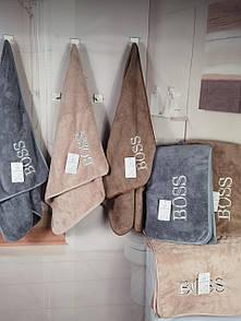 """Подарочный набор мягких полотенец для лица """"Boss"""""""