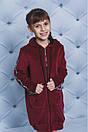 """Красивый детский велюровый халат """"Love"""", фото 6"""