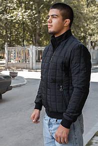 """Стильна чоловіча куртка демісезонна на змійці """"Stone"""""""
