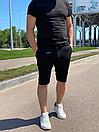 """Стильні чоловічі літні шорти з підкладкою з сітки """"Бертон"""", фото 5"""