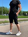 """Стильні чоловічі літні шорти з підкладкою з сітки """"Бертон"""", фото 6"""