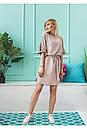 """Очень стильное молодежное женское с рюшем на рукавах больших размеров """"Ферн"""", фото 9"""