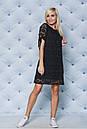 """Нежное кружевное летнее женское платье с завязками на рукавах """"Филиппин"""", фото 6"""