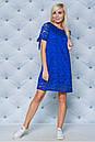 """Нежное кружевное летнее женское платье с завязками на рукавах """"Филиппин"""", фото 9"""