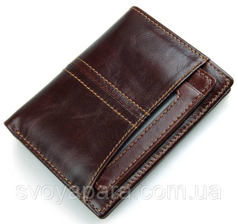 Гаманець чоловічий Vintage 14373 Коричневий