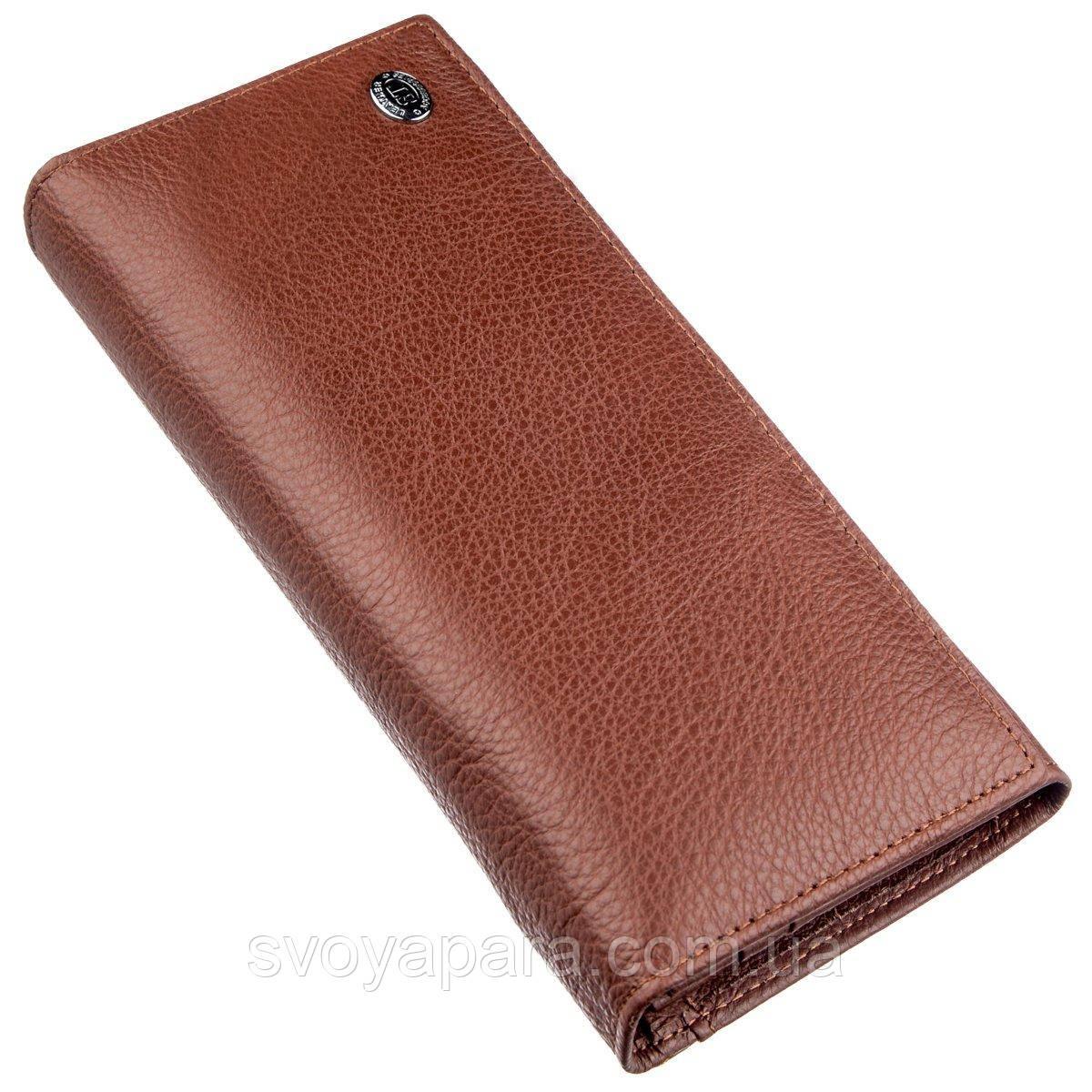 Універсальний гаманець для жінок ST Leather 18873 Коричневий