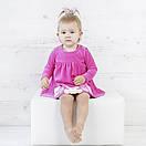 """Стильное детское платье боди для девочек из велюра """"Марисса"""", фото 4"""