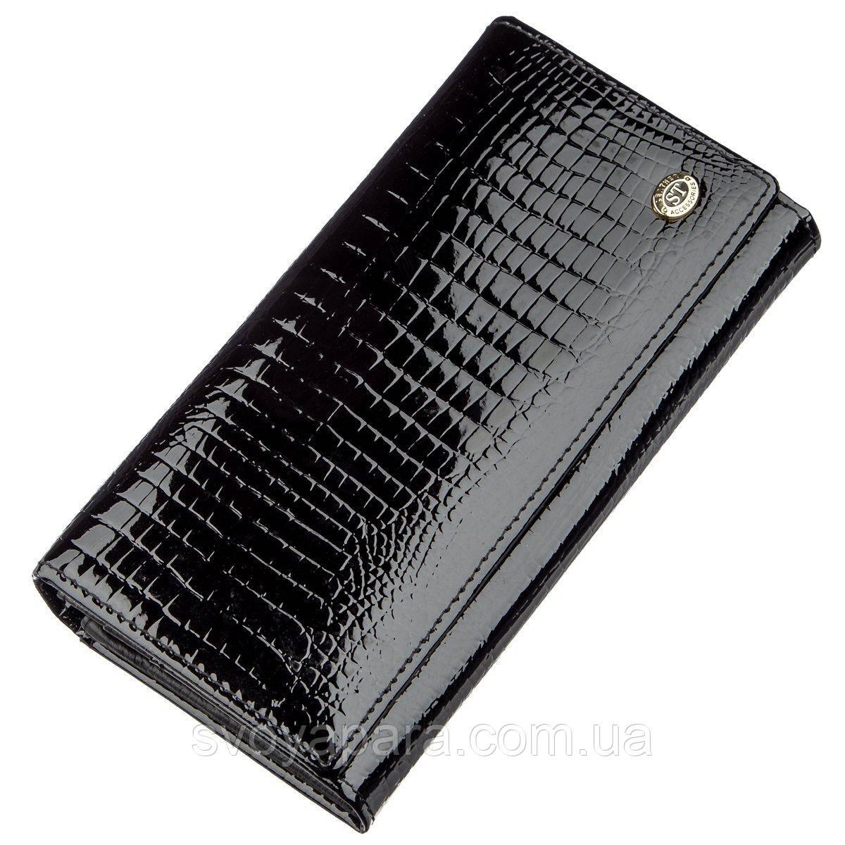 Універсальний жіночий гаманець ST Leather 18905 Чорний