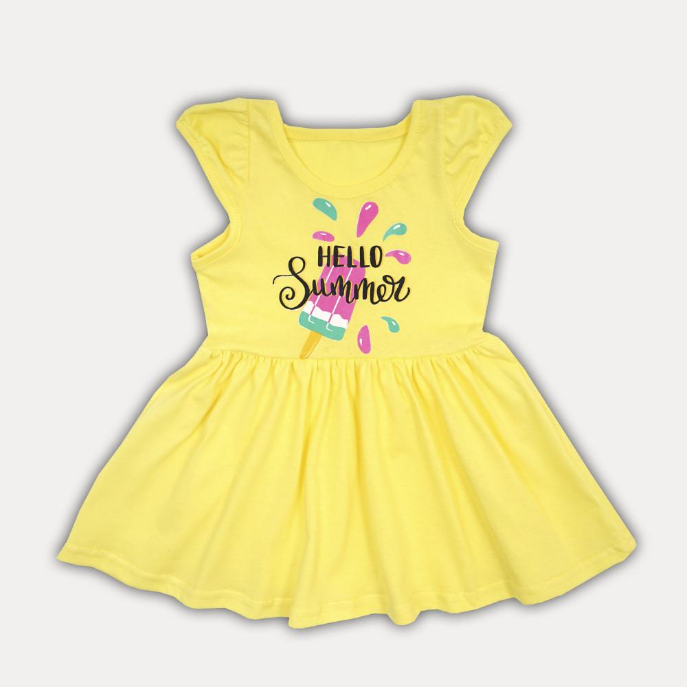 """Красивое летнее платье для девочки на каждый день """"Hello, summer!"""""""