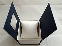 Коробочек с подушечкой для часов синяя